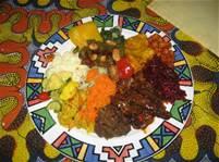 Healthy xhosa meal