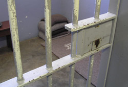 Robben island jail cell